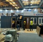 Adopen stand fabrication ongoing