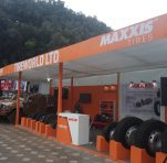 Maxxis stand - Total Motorshow 2018