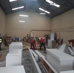 Re-fabrication on going at our factory