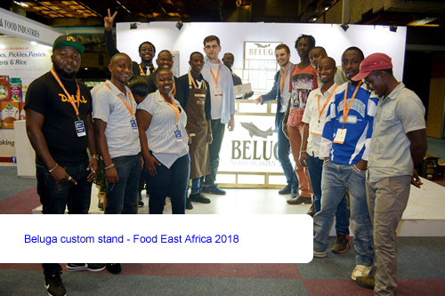Beluga custom stand - Food East Africa 2018