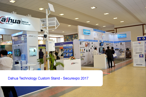 Dahua Technology Custom Stand - Securexpo 2017