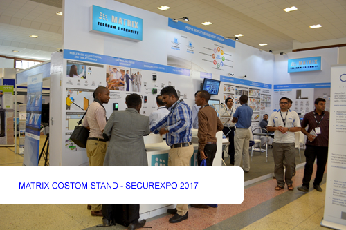 MATRIX COSTOM STAND - SECUREXPO 2017