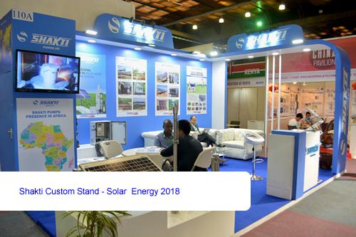 Shakti Custom Stand - Solar Energy 2018