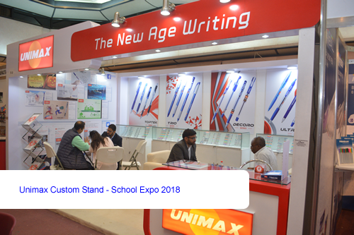 Unimax Custom Stand - School Expo 2018